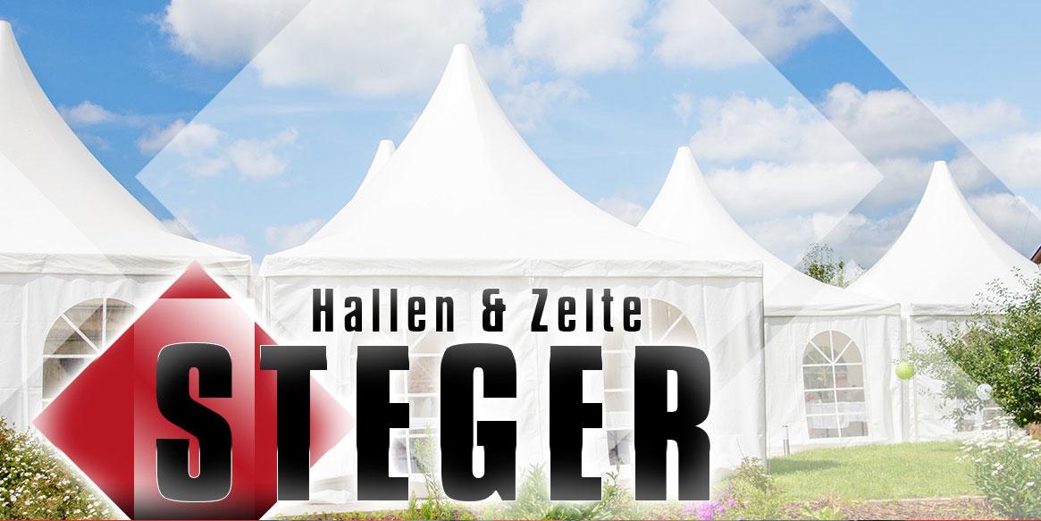 STEGER – Hallen & Zelte